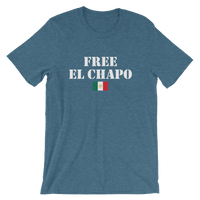 FREE EL CHAPO Men's / Unisex short sleeve t-shirt