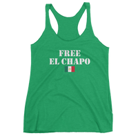 FREE EL CHAPO - Women's tank top