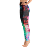 Watercolor Abstract All Over Print Yoga Leggings