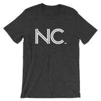 NC - State of North Carolina Abbreviation - Men's / Unisex short sleeve t-shirt