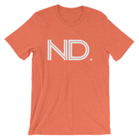 ND - State of North Dokota Abbreviation - Men's / Unisex short sleeve t-shirt