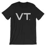 VT - State of Vermont Abbreviation Men's / Unisex short sleeve t-shirt