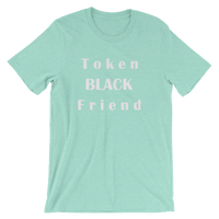 Token Black Friend - Funny Men's Unisex short sleeve t-shirt