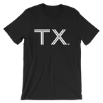 TX - State of Texas Abbreviation - Men's / Unisex short sleeve t-shirt