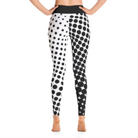 Abstract Dots Yoga Pants / Leggings