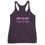 MOM Manager of Madness - Women's tank top
