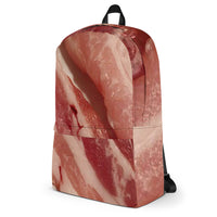 Raw Bacon All Over Print Backpack