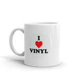 I Love VINYL Coffee Mug