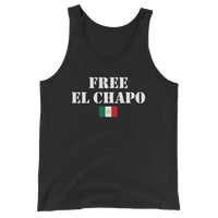 FREE EL CHAPO Men's / Unisex Tank Top