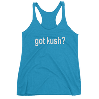 GOT KUSH? Women's tank top