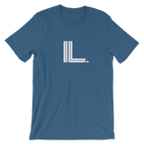 IL - State of ILLINOIS Abbreviation T Shirt - Men's / Unisex short sleeve t-shirt