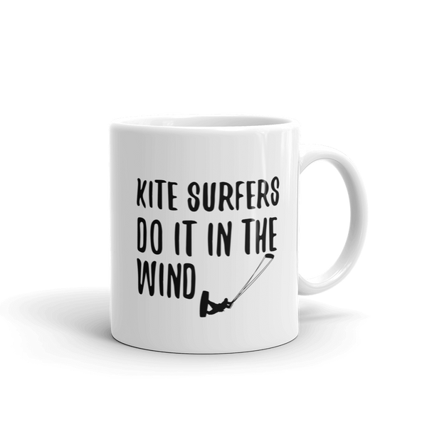 Kite Surfers Do It In The Wind Coffee Mug