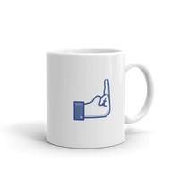 Middle Finger Flip Off Fuck You Coffee Mug - Boss - Secretary - Work