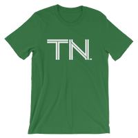 TN - State of Tennessee Abbreviation - Men's / Unisex short sleeve t-shirt