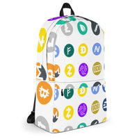 Cryptocurrency All Over Print Backpack