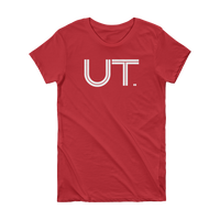 UT - State of Utah Abbreviation Short Sleeve Women's T-shirt