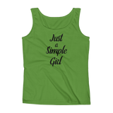 Just a Simple Girl - Ladies' Tank