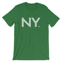 NY - State of New York Abbreviation - Men's / Unisex short sleeve t-shirt