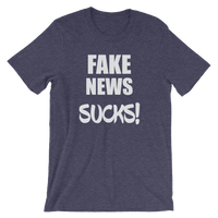 Fake News SUCKS! Men's / Unisex short sleeve t-shirt