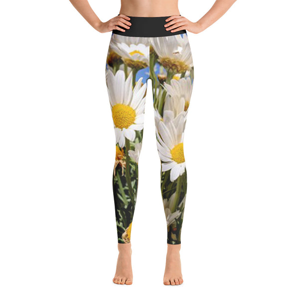 Gorgeous DAISY All OVer Print Yoga Pants / Leggings