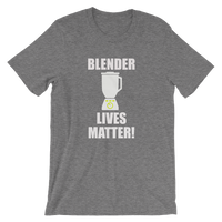 Blender Lives Matter! Funny Frozen Drinks Men's / Unisex short sleeve t-shirt