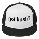 Got KUSH? Embroidered Snapback Trucker Cap / Hat