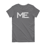 ME- State of Maine Abbreviation Short Sleeve Women's T-shirt