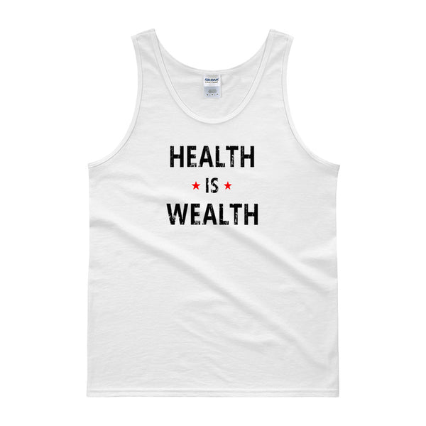 Health is Wealth Men's Tank top