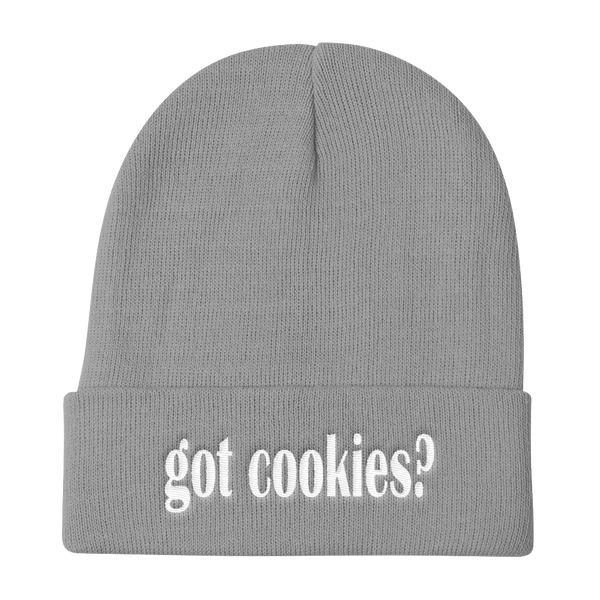 Got Cookies? Funny Knit Beanie