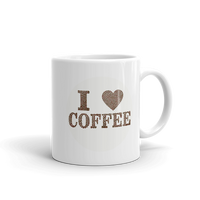 I Love COFFEE Coffee Mug