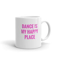 DANCE is My Happy Place Coffee Mug