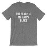 The Beach is My Happy Place - Men's / Unisex short sleeve t-shirt