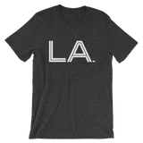 LA - State of LOUISIANA Abbreviation Men's /  Unisex short sleeve t-shirt