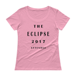 The Eclipse 2017 Attendee Ladies' Scoopneck T-Shirt