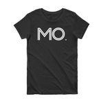 MO - State of Missouri Abbreviation Short Sleeve Women's T-shirt