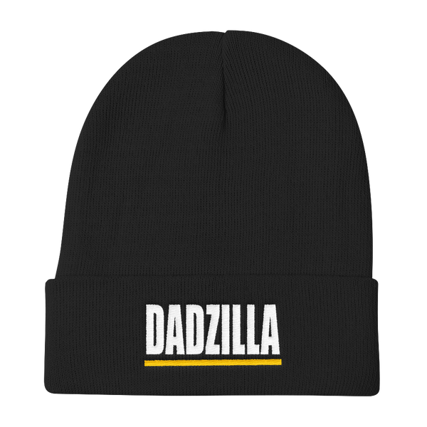 DADZILLA - Dad Embroidered Stocking Knit Beanie