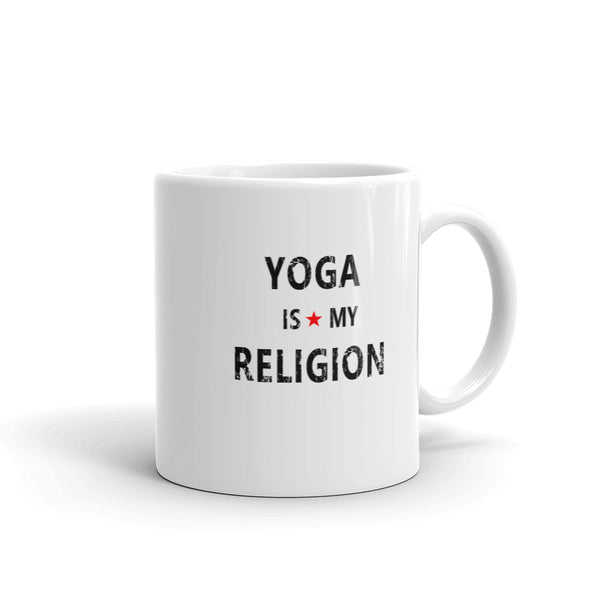 YOGA Is My Religion Coffee Mug