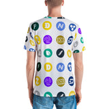 Cryptocurrency Icon All Over Print Men's T-shirt
