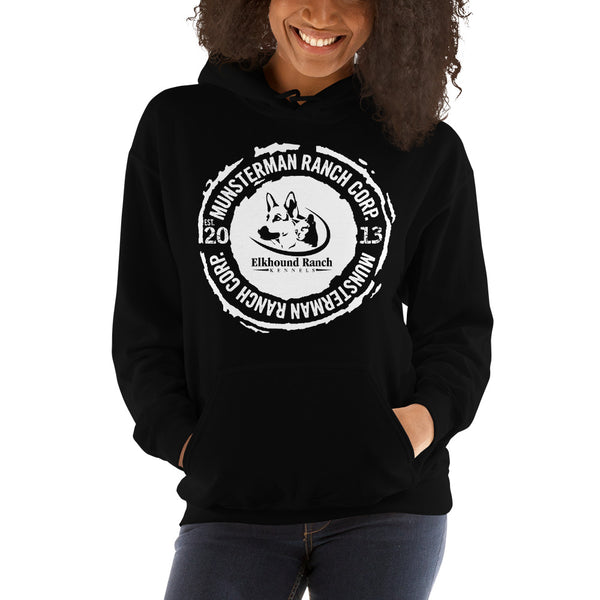 Elkhound Ranch Kennels Unisex Heavy Blend Hoodie | Gildan 18500