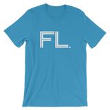 FL- State of FLORIDA Abbreviation Men's / Unisex short sleeve t-shirt
