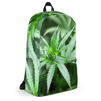 Marijuana All Over Print Backpack