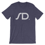 SD - State of South Dakota Abbreviation - Men's / Unisex short sleeve t-shirt