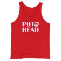 POT HEAD Men's / Unisex  Coffee Pot Tank Top