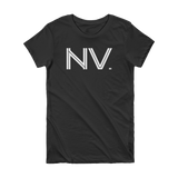 NV - State of Nevada Abbreviation Short Sleeve Women's T-shirt