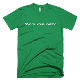 Who's Your Data? Men's Short-Sleeve T-Shirt