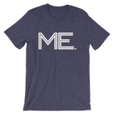 ME- State of Maine Abbreviation - Men's / Unisex short sleeve t-shirt