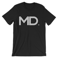 MD - State of MARYLAND Abbreviation - Men's / Unisex short sleeve t-shirt