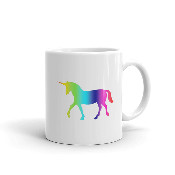 Unicorn Rainbow Coffee Mug