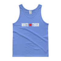 White Trash With Limited Rags Red Star Men's Tank top