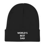 World's Best DAD Knit Beanie